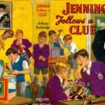 Jennings schoolboy reading